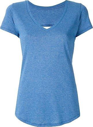 Track & Field T-shirt com recorte - Azul