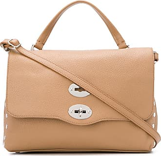 Zanellato front flap shoulder bag - NEUTRALS