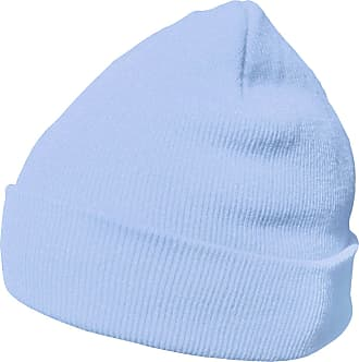 DonDon winter hat beanie warm classical design modern and soft sky blue