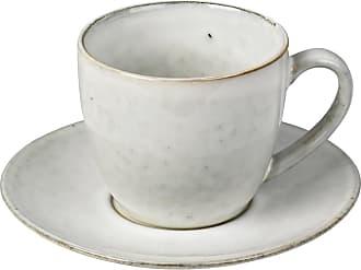 Broste Copenhagen Kaffekopp med fat nordic sand, broste copenhagen