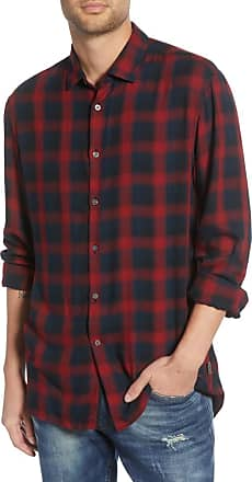 John Varvatos Dedrick Regular Fit Plaid Button-Up Sporthemd - xl