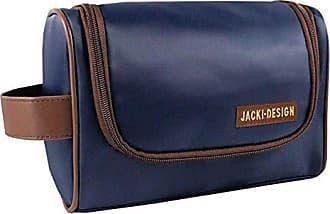 Jacki Design Necessaire Masculina com Alça Lateral Jacki Design AHL17210 - Azul/Marrom