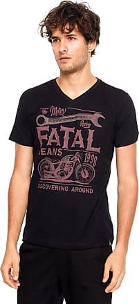 Fatal Surf Camiseta Fatal Slim Preta
