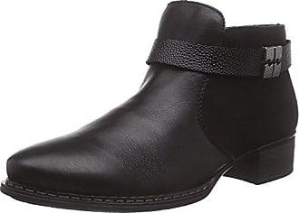 Rieker Damen 73660 Kurzschaft Stiefel, schwarz Black   01, 40 EU 47858c3004