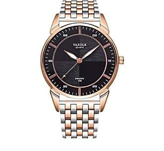 Yazole Relógio Aço Inoxidável de Luxo Yazole Z398 Original (2)