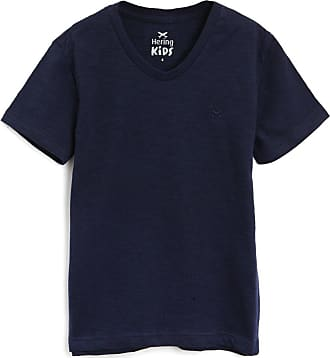 Hering Kids Camiseta Hering Kids Infantil Lisa Azul-Marinho