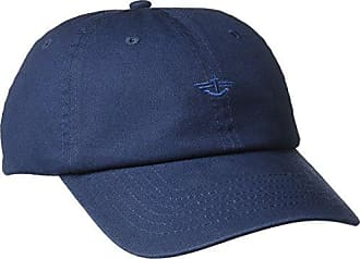 Dockers Mens Core Tonal Embroidered Logo Dad Baseball Hat, Blue/Navy, One Size