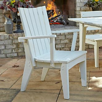 UWharrie Chair Outdoor Uwharrie Hourglass Patio Dining Chair with Arms - H075-024P