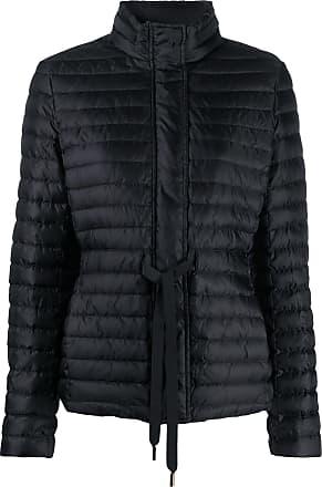 Michael Michael Kors drawstring-waist padded jacket - Preto