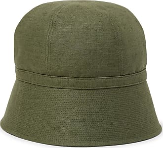 Needles Slub Linen And Cotton-blend Bucket Hat - Army green