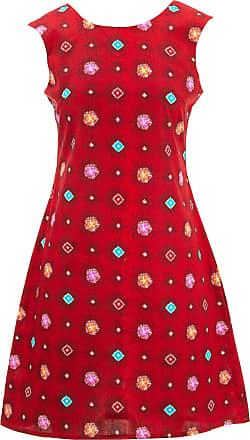 Loud Elephant Nifty Shifty Dress - Red Explosion (Medium)