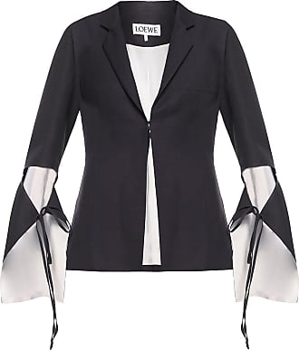 Loewe Notch Lapel Blazer Womens Black