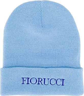 Fiorucci Gorro com logo bordado - Azul
