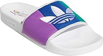 adidas Originals Badelatschen Adilette EE4807 Türkis Glitzer, Schuhgröße:42