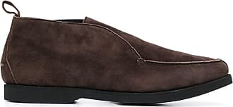 Kiton flat laceless loafers - Brown