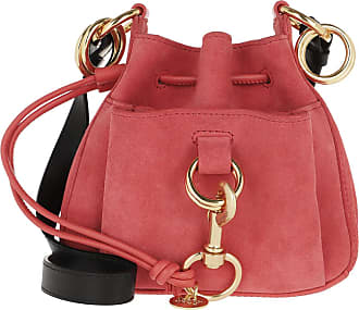 See By Chloé Bucket Bags - Tony Small Shoulder Bag Pink - red - Bucket Bags for ladies