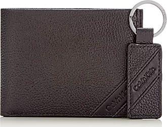 328ea8d49 Calvin Klein Pebble Giftbox, Carteras Hombre, Negro (Black), 12.8x19x2.