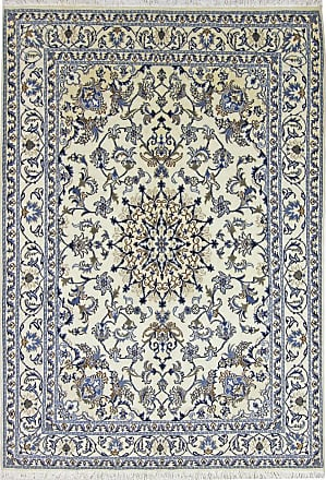 Nain Trading 233x161 Handknuten Nain Matta Dark Grey/Light Blue (Ylle, Persian/Iran)