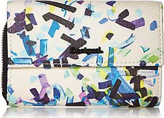184968ea269 Desigual dames portemonnee Confetti Alba Women portemonnee, zwart (Negro),  3x10.5x14