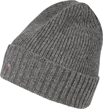 GANT Bonnet gris chiné