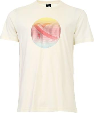 ...Lost Camiseta...Lost Eclipse Crosshatch Off-White