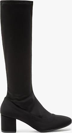 agnès b. black gabrielle sock boots