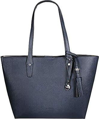 a8c33a4244fe1 L.Credi L. CREDI Damen Shopper Tasche Palma Marine (blau)