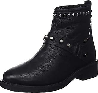 25ed892410941 Pepe Jeans London London Maddox Ring, Botines Femme, Noir (Black 999),