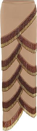 Y / Project Beaded asymmetric skirt