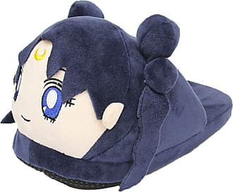Cosstars Sailor Moon Anime Cosplay House Slippers Furry Indoor Slip On Shoes for Women and Men 7