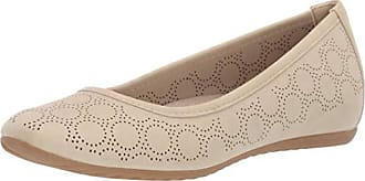 Easy Street Womens Cosmic Ballerina Slip-on with Cutouts Ballet Flat Stone 7.5 W US