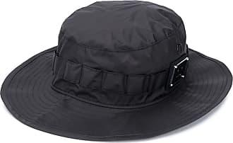 Acne Studios logo plaque bucket hat - Black