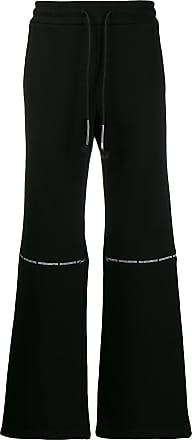 WWWM - What We Wear Matters Calça pantalona com ajuste no cós - Preto