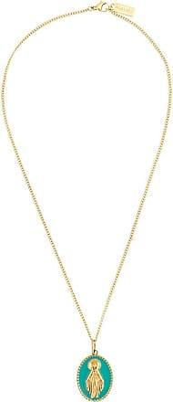 Nialaya Lady of Guadalupe pendant necklace - GOLD