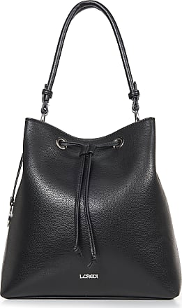 L.Credi Handbag in casual bucket bag style L. Credi black
