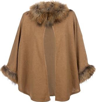 beige Logo-embroidered poncho  Chloé  Ponchoer & caper - Dameklær er billig