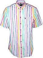 Wind Sportswear Hemd mit Aquarell Streifen