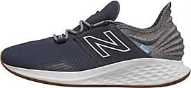 New Balance lace up trainers with a sock like construction for a supportive snug fit and Fresh Foam midsole providing extra cushioning