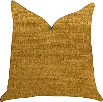 Plutus Brands Wild Turmeric Double Sided Luxury Throw Pillow, 12 x 25, Gold