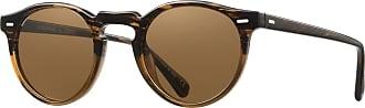 Oliver Peoples OV5217S 100153 Sun/Light Brown Gregory Peck Sun Round Sunglass