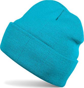 styleBREAKER Classic Beanie Knit hat, Warm fine Knit hat, Unisex 04024029, Color:Turquoise