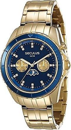 Seculus Relógio Feminino Dourado Seculus Prime 28709LPSVDA1