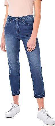 Calvin Klein Jeans Calça Jeans Calvin Klein Jeans Slim Cropped Straingt Azul
