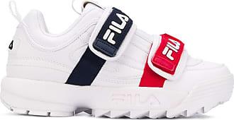 Fila Sneakers mit doppelten Riemen - Weiß