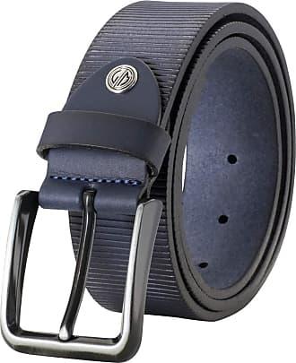 Lindenmann Mens leather belt//Mens belt full grain leather belt XXL black//dark brown 2 Colors
