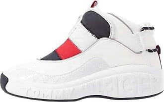 Tommy Hilfiger Contrast Boat Mens Footwear Shoe Cobblestone All Sizes