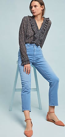 Closed Glow High-Rise Kick Flare Jeans
