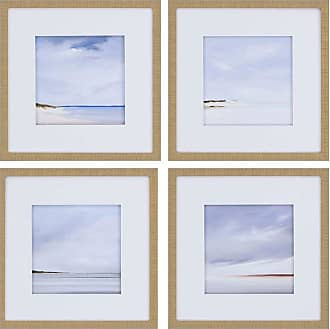 Paragon Picture Gallery Paragon Shores Framed Wall Art - Set of 4 - 1932