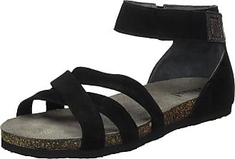 Think Womens 686597_Shik Ankle Strap Sandals, Black (SZ/Kombi 09), 5 UK