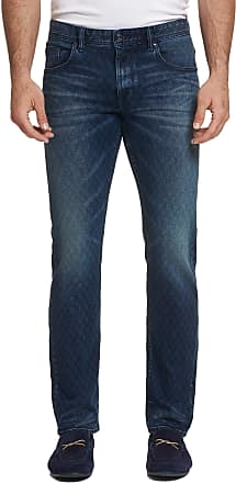 Robert Graham Mens Helio Perfect Fit Jeans In Indigo Size: 29W by Robert Graham